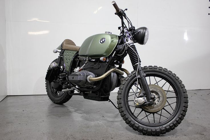 """sarge!"""" kevils speed shops military flavoured bmw r100rs « custom"""