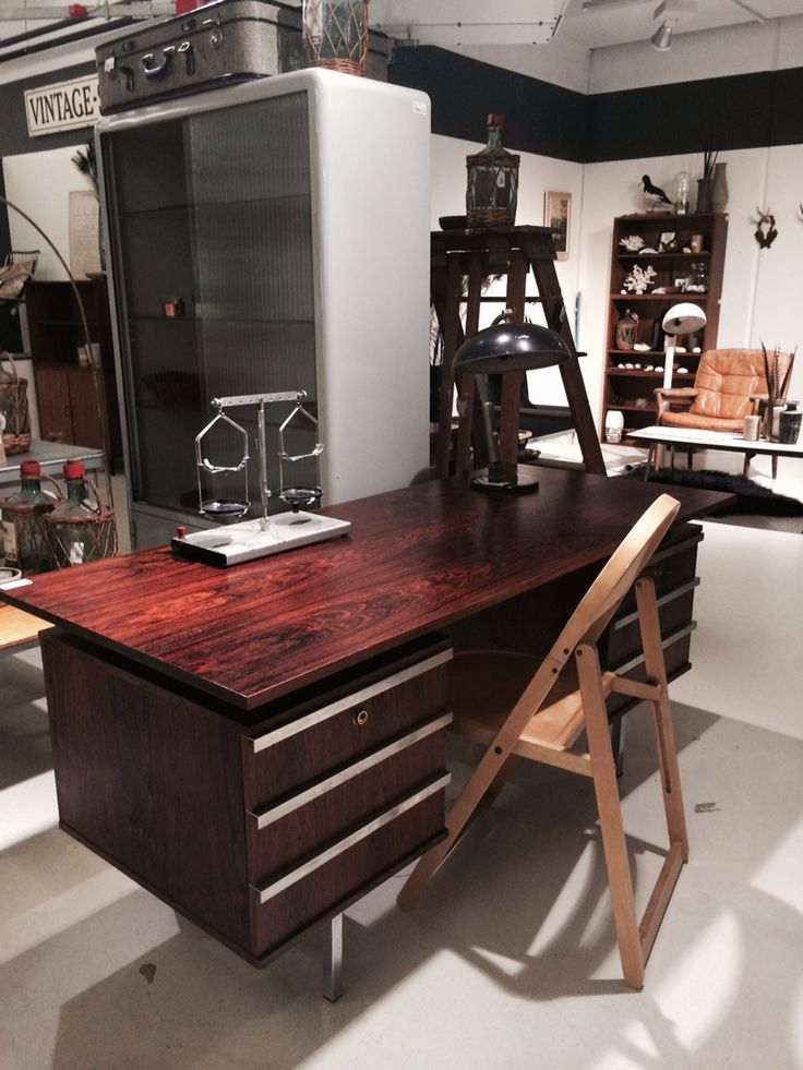 Bureau rosewood Verkocht