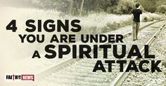There are more than four signs of being under spiritual attack but here are four signs that may help you know that you are. Feelings of Worthlessness Some the most frequent causes of spiritual attacks come when you have overcome a major sin, you have had a time of great success, and you are consistently ...