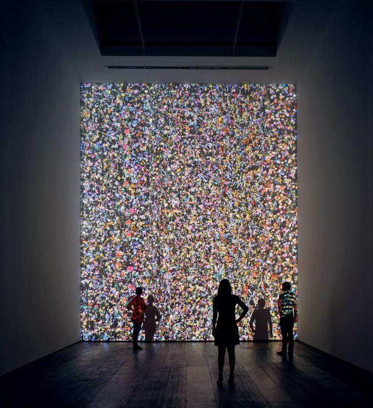 Jennifer Steinkamp – Daisy Bell #installation #digital #art
