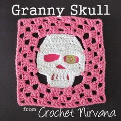 Granny Skull Crochet Pattern