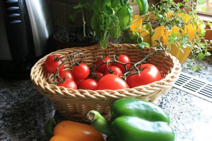 My small kitchen garden: Vegetables & herbs ...