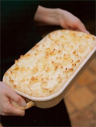 Nursery Fish Pie: There are certain days when only something soothing and comforting and topped with mash potato will do; on such days, this pie could make you weep with gratitude. In extremis, top quality bought mash (such as from the Good As Going Out range at Waitrose) will do as a substitute for peeling, cooking and mashing real potatoes.
