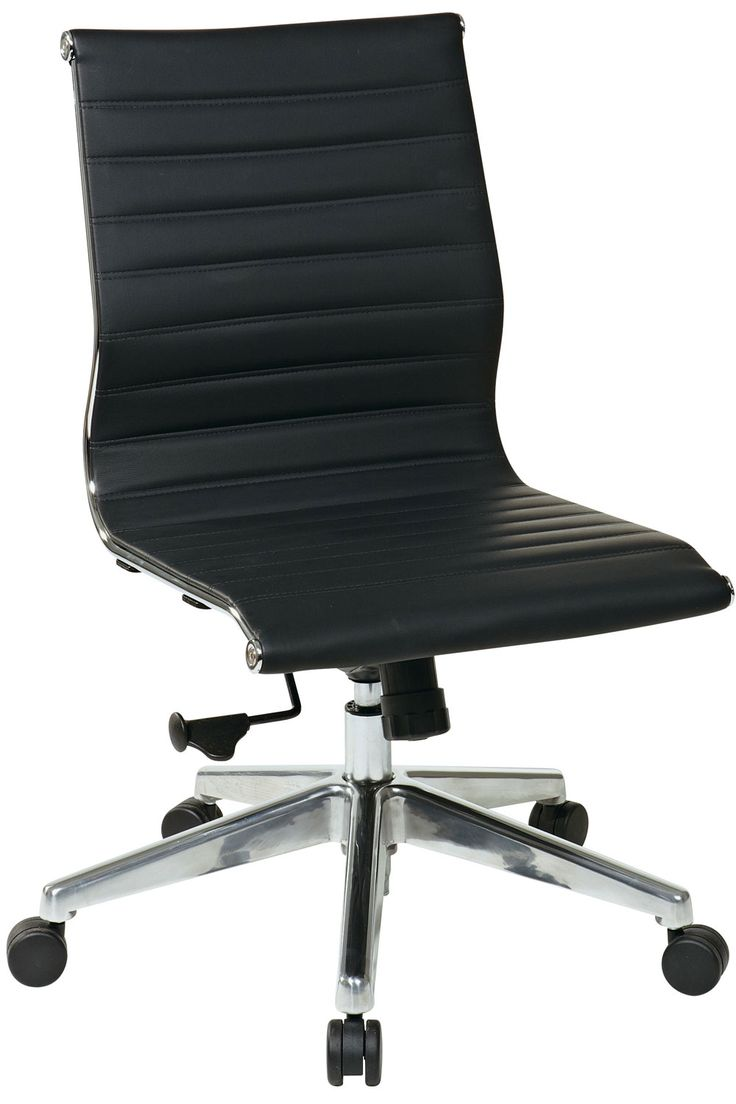 Leather Office Chairs No Arms