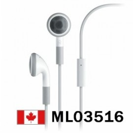 OEM Apple Headphone Headset For iPhone iPod W / MIC New    Price = $14.99
