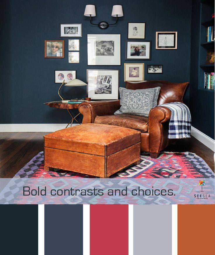 18 besten Living room Bilder auf Pinterest Wohnideen, Bildwirkerei - wohnzimmer farblich gestalten