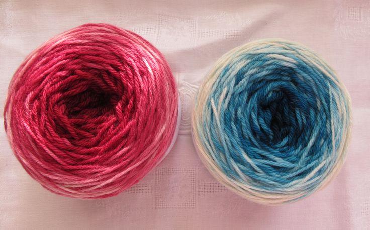 Teinture en dégradé   in the loop - Le webzine des arts de la laine