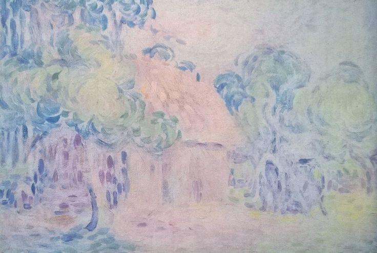 A small farm | Charles Angrand [1905]