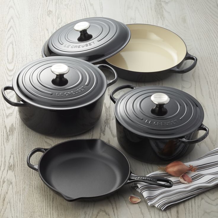 die besten 25 le creuset ideen auf pinterest le creuset. Black Bedroom Furniture Sets. Home Design Ideas