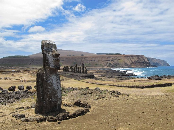photo ile de paques statue moai
