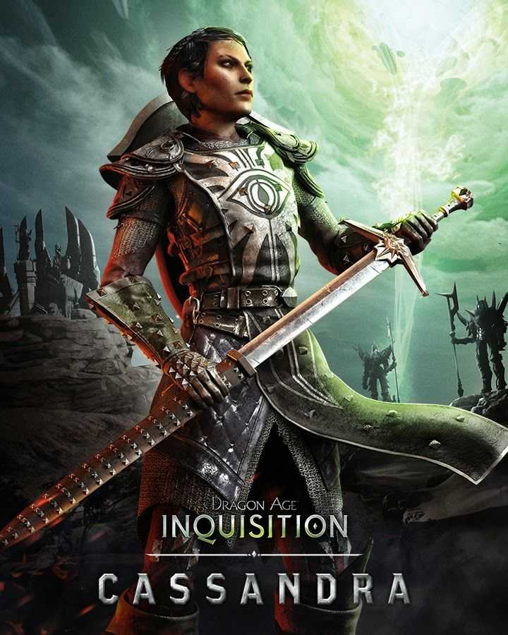 Dragon Age: Inquisition - Cassandra  SUCH a fantastic character.  <3 her to bits