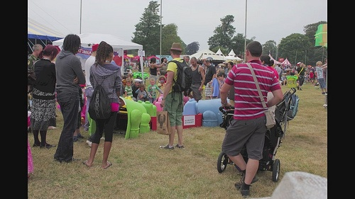 Camp Bestival 2011 Hungry Hippos Time Lapse