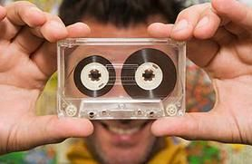 http://electronics.howstuffworks.com/gadgets/other-gadgets/projects-reuse-cassette-tapes.htm: Cassette Tape, Tape Art, Tape Ideas