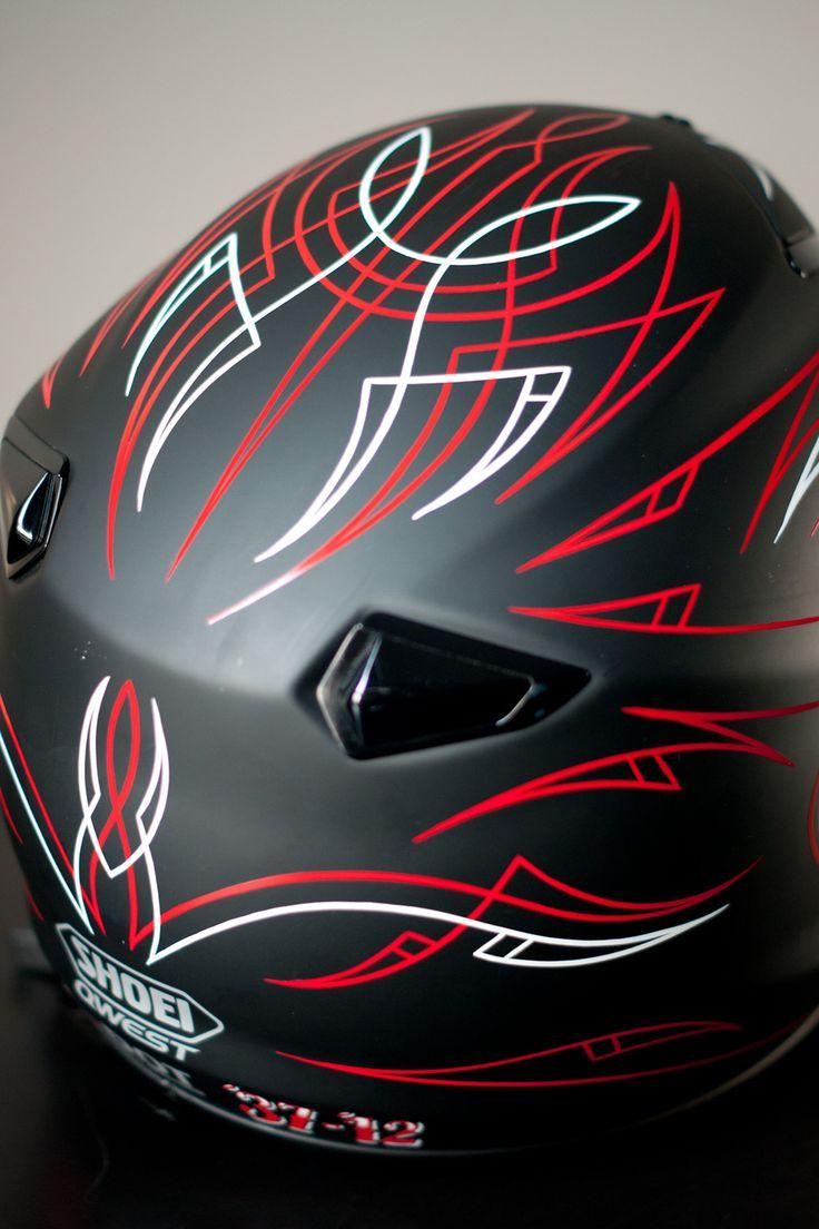 Kustom Pinstriping   pinstriping, helmets, kustom art, kustom kulture, hot rods, motorcycle ...