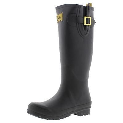 #Shoes #Apparel Joules 9506 Womens Field Welly Black Rubber Rain Boots Shoes 6 Medium (B,M) BHFO #Christmas #Gifts