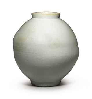 A Large White Porcelain Jar  Joseon dynasty (18th century)  (Christie's, New York - Lot 188, 9.11.12)