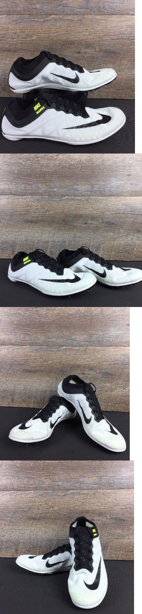 Track and Field 106981: Nike Mamba 3 Distance White Black Track And Field Spikes Mens Size 7 (706617-106) -> BUY IT NOW ONLY: $74.99 on eBay!