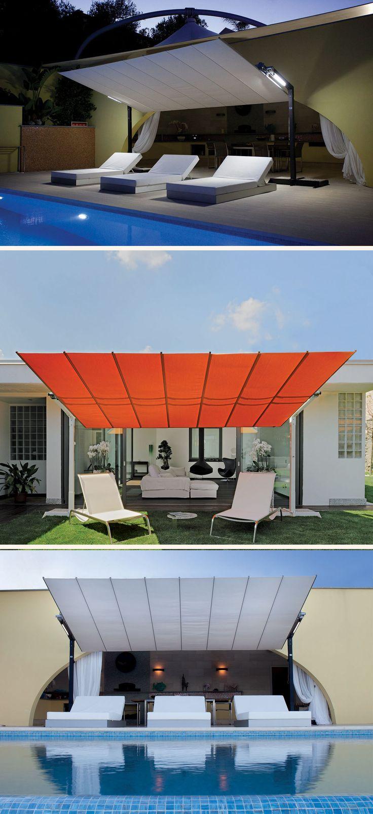 Tendasole Flexy di FIM. #arredo #giardino #ombrellone #madeinitaly
