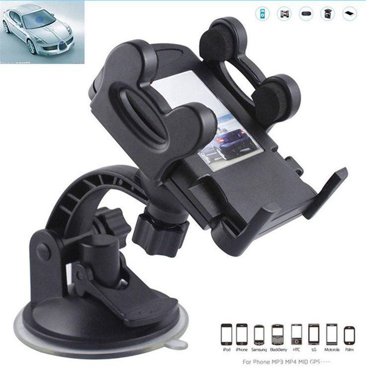 Car Phone Holder Windshield Mount Bracket Suction Cup Holder for Mobile Phone GPS MP4 Suporte Celular Carro Soporte Movil Car