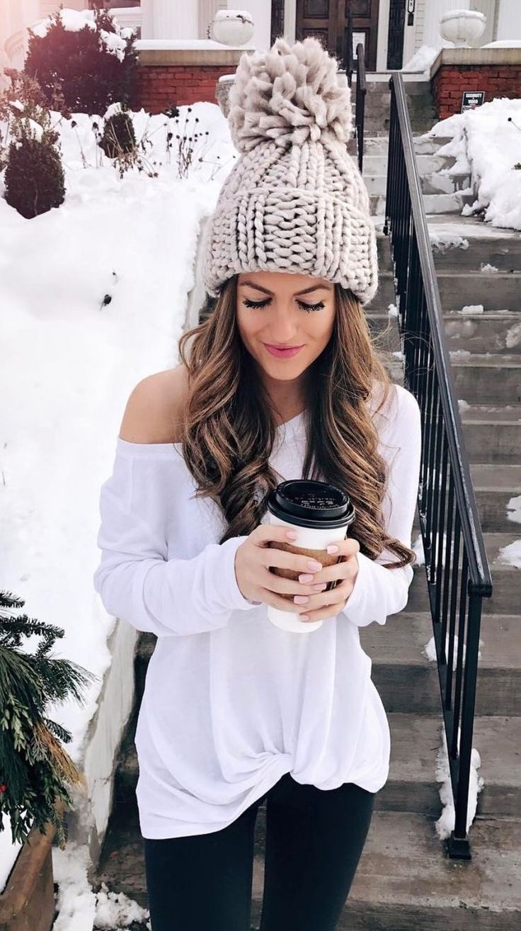yeah, no. not when it's cold enough to snow but this would be cute for late fall or early spring