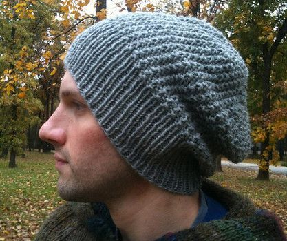Unisex free pattern is quick knit