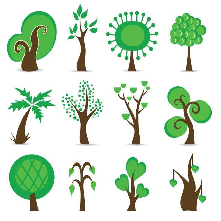 Условное изображение дерева картинки