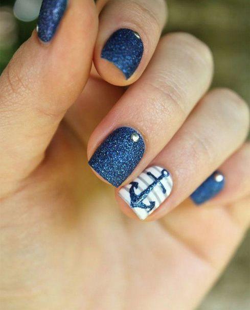 Cutest Beach Anchor Nail Art - 25+ Trending Anchor Nails Ideas On Pinterest Pretty Nails