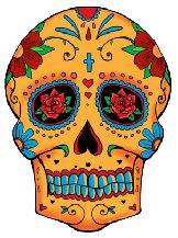 sugar skulls !Ink Art, Tattoo Ideas, Sugar Skull Tattoo, Skull Tattoos, Art Tattoo, Tattoo Flash, Mexicans Skull, Dead, Day