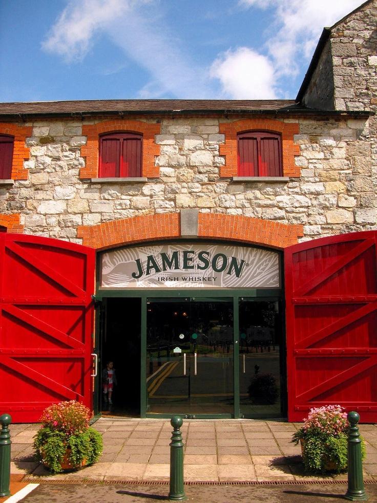 The Entrance to the Old Jameson Distillery Dublin. & 52 best Jameson images on Pinterest | Jameson irish whiskey Drinks ...