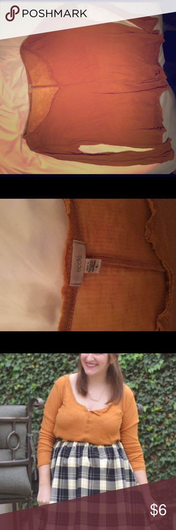 Urban Outfitters Long Sleeved Henley Super soft! Great condition. Ecote Tops Tees - Long Sleeve