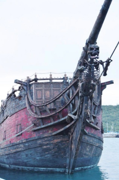 Black-Pearl Ship, originally Wicked Wench, is a fictional ship in the Pirates of the Caribbean film series.