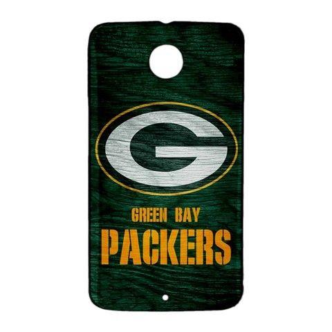 Green Bay Packers Custom Google Nexus 6 Case Cover Wrap Around