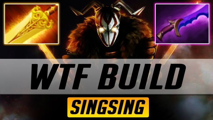 WTF Juggernaut Build Radiance and Shadow Blade by SingSing | Dota 2 7.06 Jugg Highlights