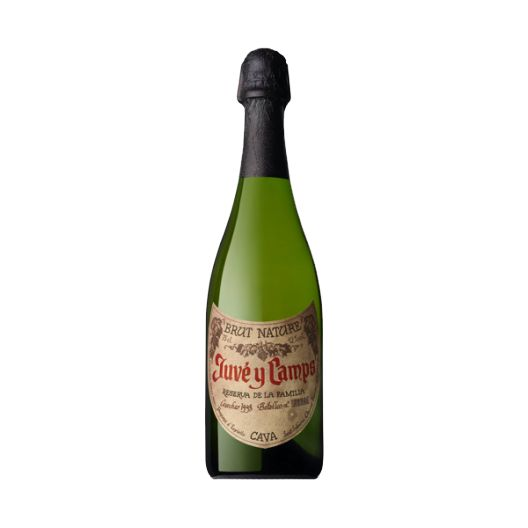 Cava Juve Camps Family Reserve 750 ml. Prepared by Bodega Juve Camps with grapes Macabeo, Parellada and Xarel.lo.