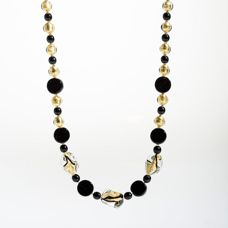 Eleganza Neckalce - Venetian Murano Glass Jewellery for Australia - www.italianheart.com.au
