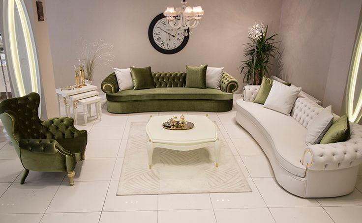 1400-yesil-beyaz-chester-oturma-odasi-modelleri · Dekorasyon, Ev Dekorasyonu, Ev Tasarımı Döşemesi   Dekorasyon, Ev Dekorasyonu, Ev Tasarımı Döşemesi