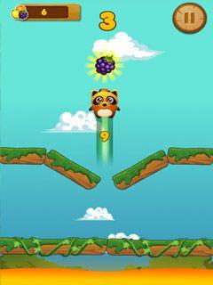 Jogue Jump Up online no Lejogos! Deixe seu guaxinim peluches pequeno saltar para o céu em Jump Up! - o jogo de salto infinito! Este saltador de plataforma do estilo arcade testará sua habi