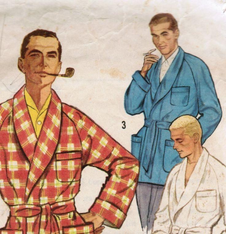 1950's men's smoking jacket - Google Search