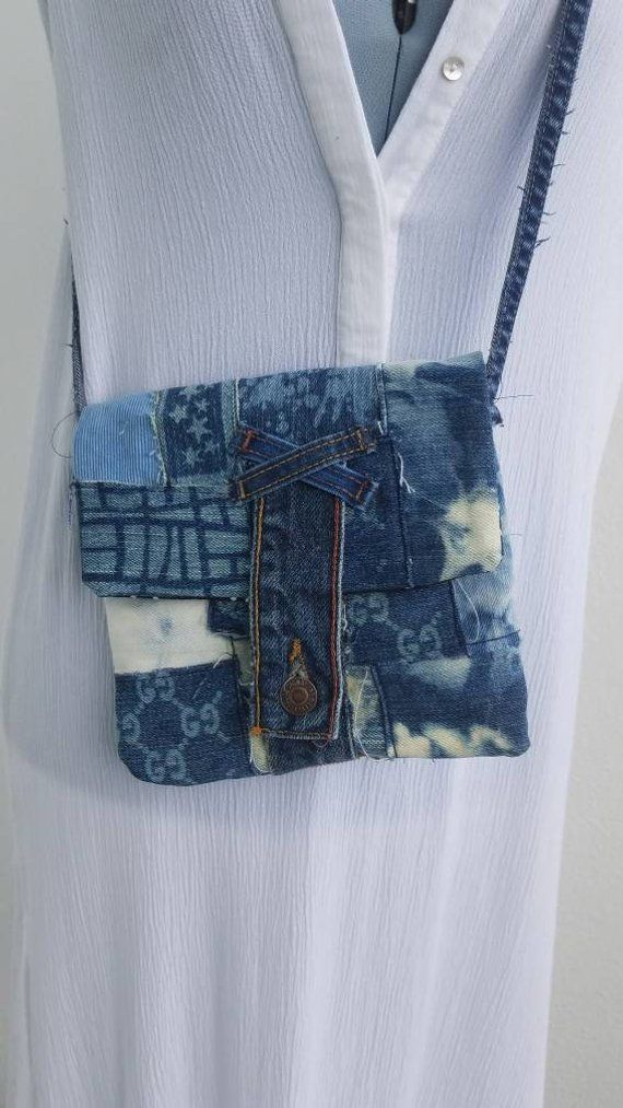dbf2ab0efbef Denim tie dye and corduroy small handbag purse satchel custom patches Gucci  patches. Levis button close. One of a Kind purse | Purses | Denim purse, ...