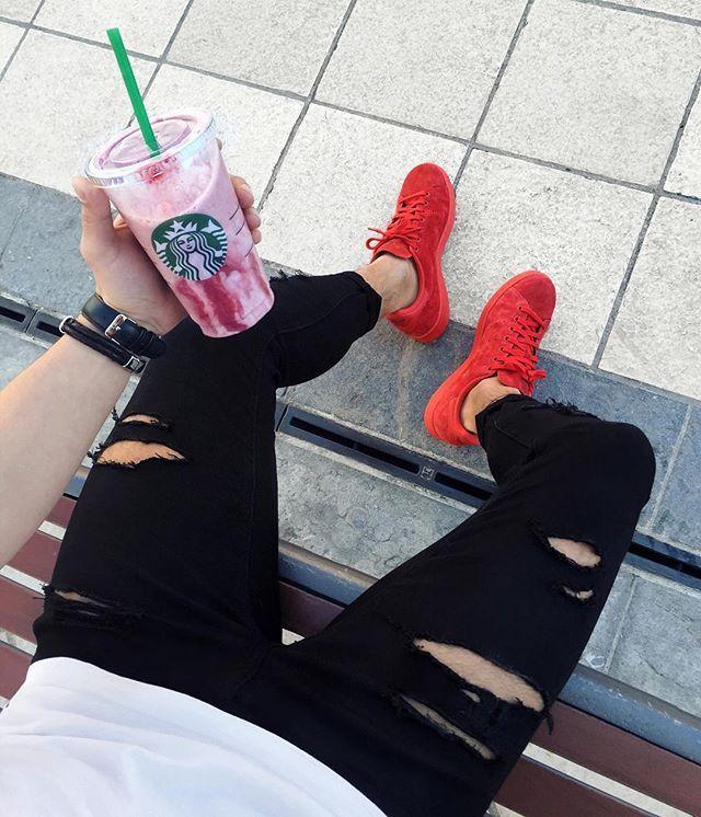 Moda Masculina. Fotos Tumblr Inspirações. Starbucks