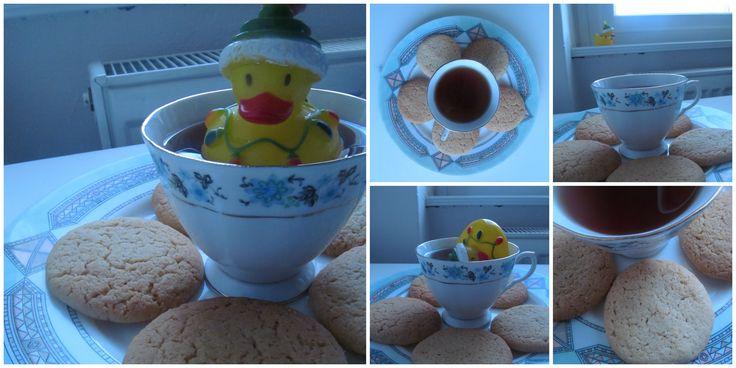 arašídové sušenky,))
