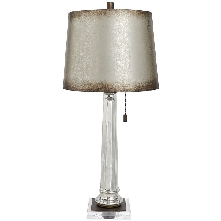 Gabrielle mirrored base table lamp