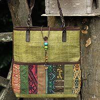 Wonderful bag from my favorite craftsperson, Chidara @ Novica.com