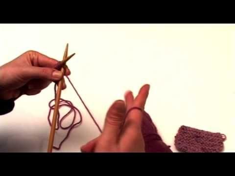 Πλέξιμο - Καλός πόντος (knit) / Πλέξη μους (garter) - Ftiaxto