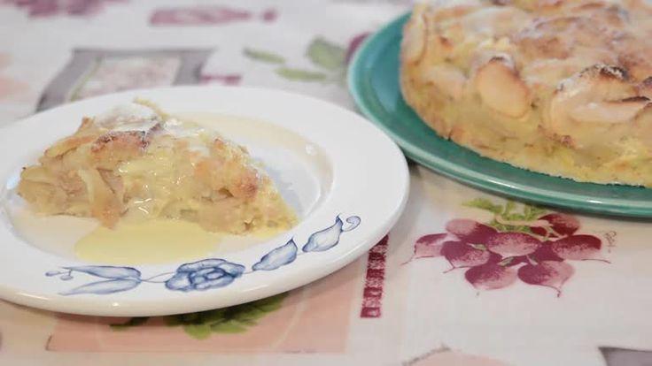 Torta húmeda de manzanas - Maru Botana