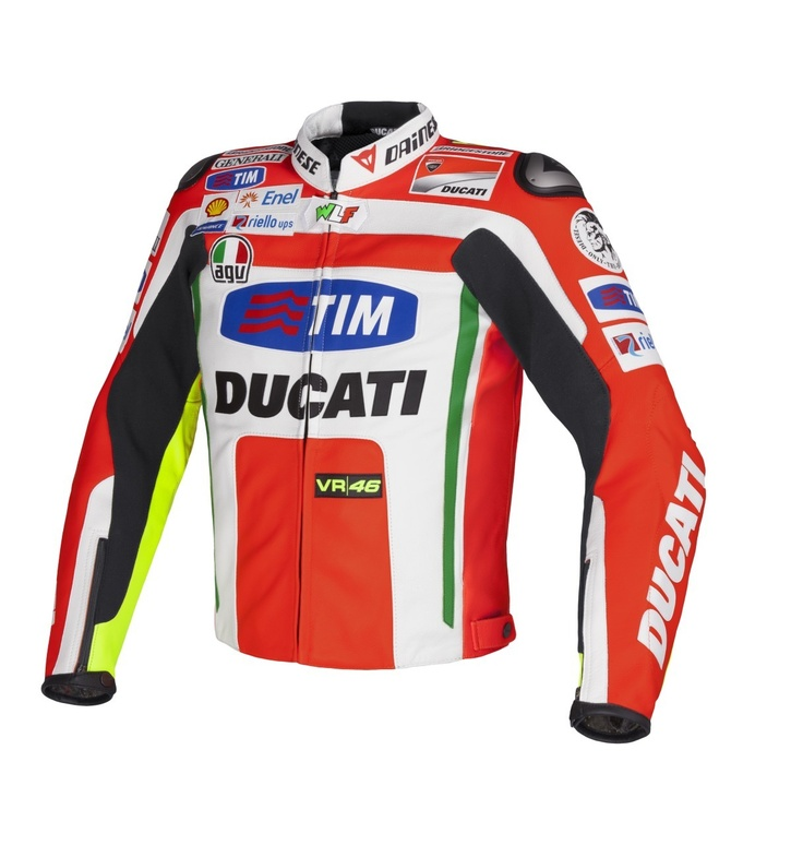 Dainese Valentino Rossi Replica Ducati Leather Jacket