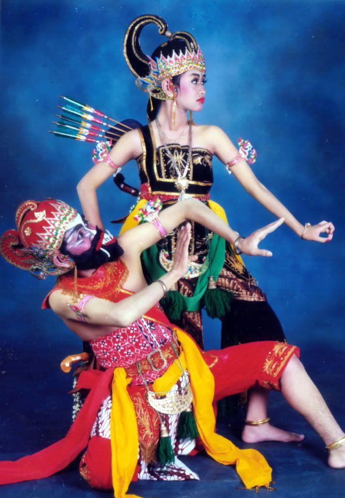 Blambangan Cakil dance, Central Java