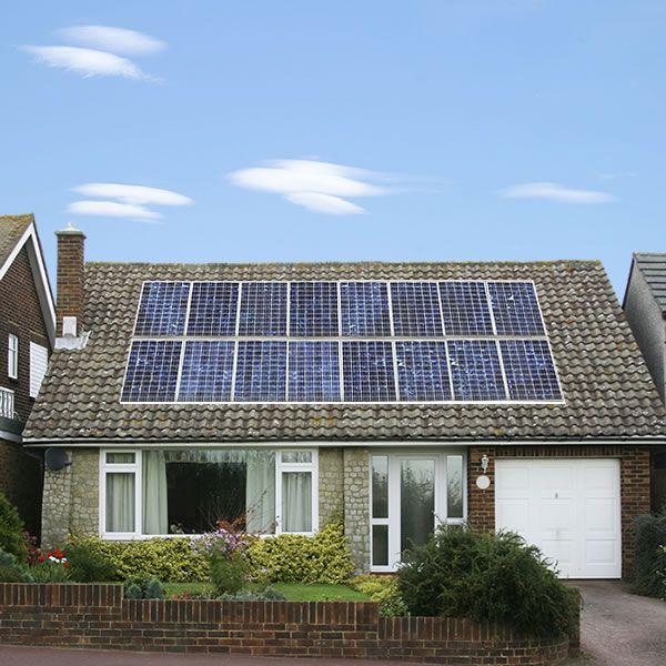 Complete 4KW Solar Panel Installation