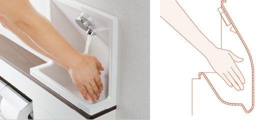 その他の特長:カウンター/手洗器/水栓金具 | レストルームドレッサーシステムシリーズ | トイレ | 商品を選ぶ | TOTO