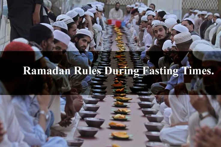 Ramadan Rules In Islam During Fasting Times